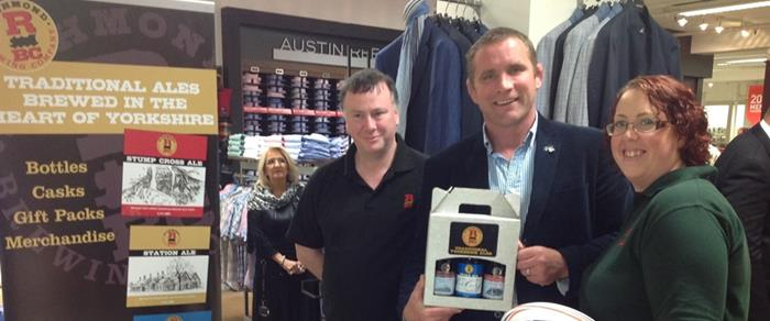 RBC 'Touch down' with Rugby Legend Phil Vickery